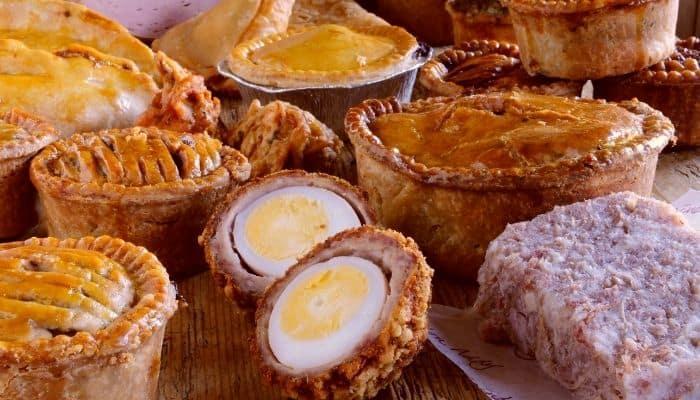 British Picnic Food