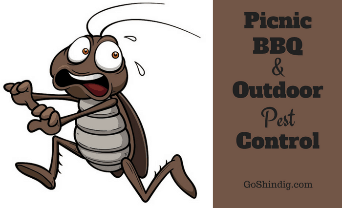 Picnic, BBQ and Outdoor Pest Control - Flies, ants, bees