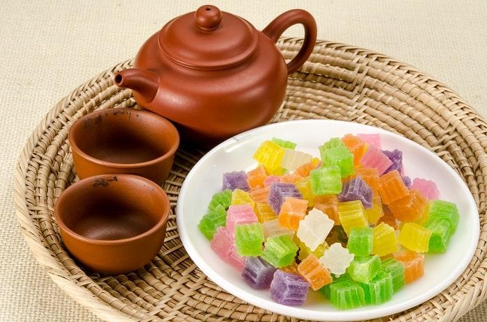 Thai dessert Woon Krob