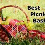 Best Picnic Baskets - Wicker, Collapsible, Insulated & Wheeled