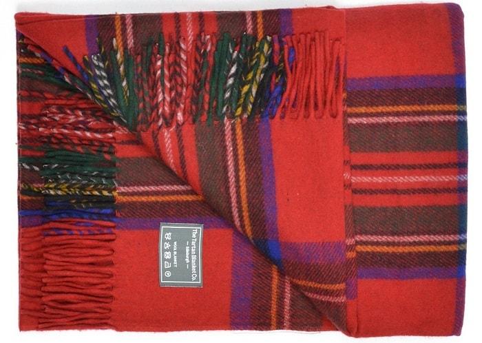 Classic wool picnic blanket