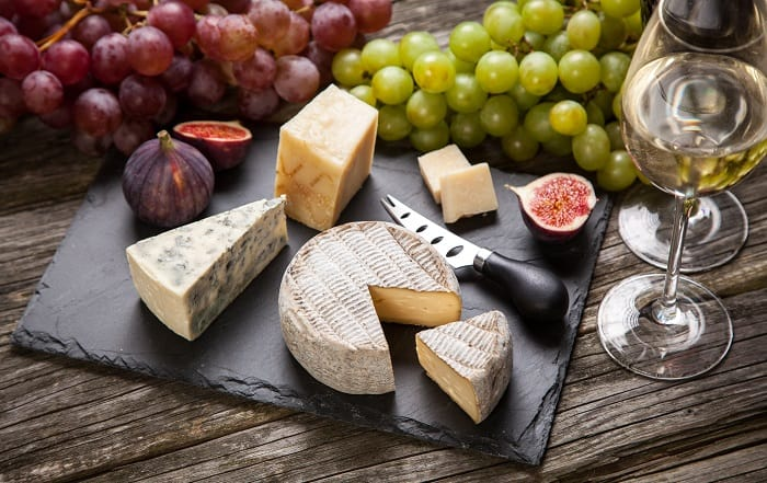 French Picnic Cheese board