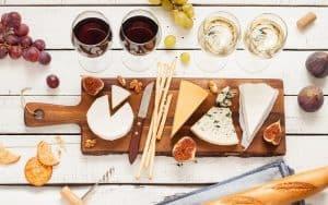 Picnic cheeses