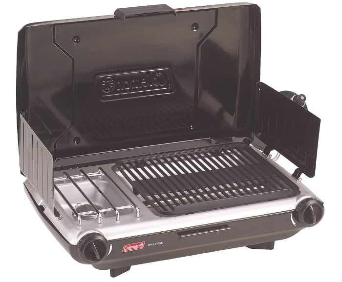 Picnic grill and stove