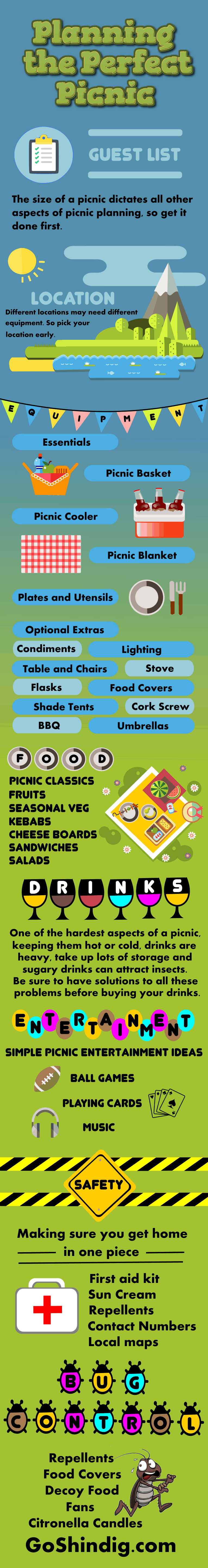 Picnic Planning Infographic