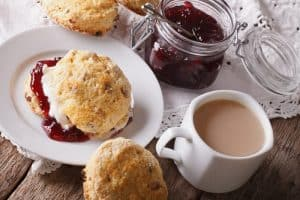 British picnic scones