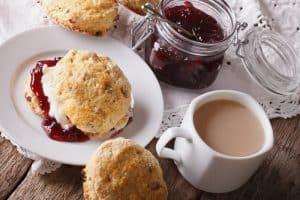 British picnic scones