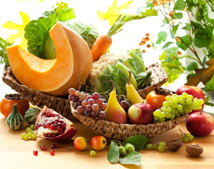 Seasonal Fall food