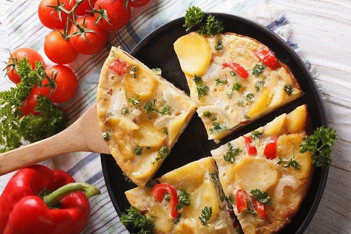 Spanish Picnic Tortilla