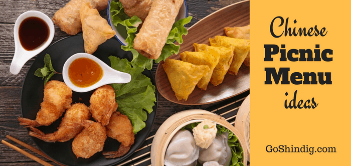 Chinese picnic menu ideas