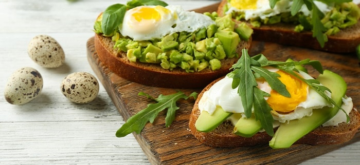 Picnic Avocado on toast