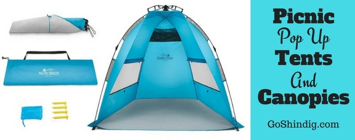 Best Picnic pop up tents