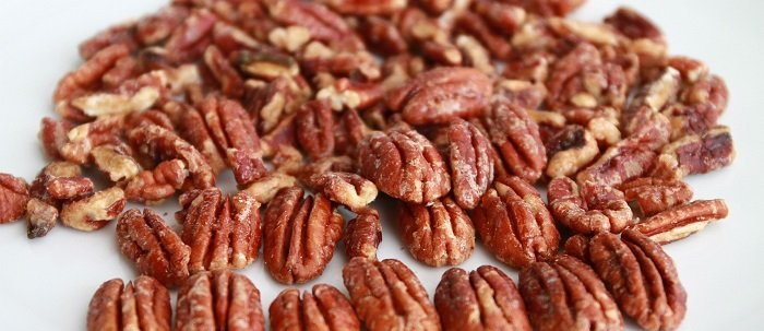 Potluck candied pecans
