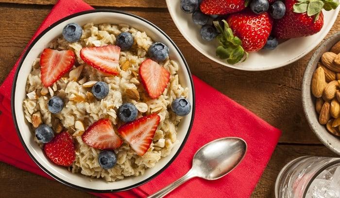 Picnic Oatmeal Breakfast