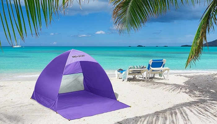 Picnic pop up tent