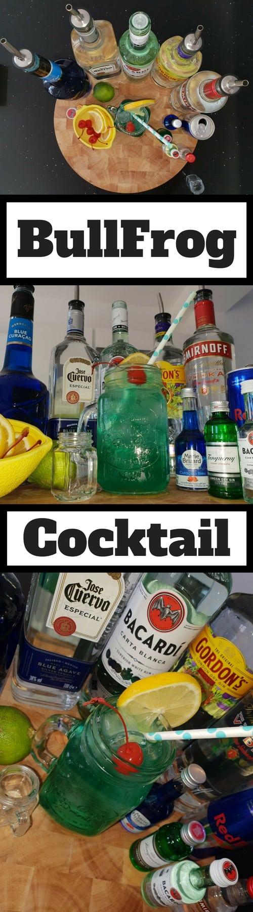 Bullfrog Cocktail Drink