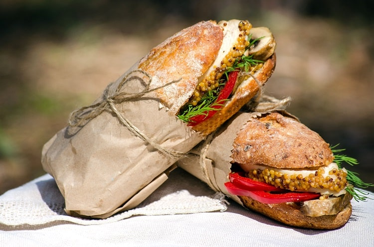 Gourmet Picnic Sandwiches