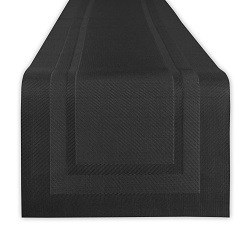 Outdoor Table Runner Black