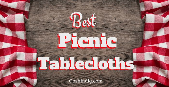 Outdoor Picnic Table Covers. Plastic, Elastic, Vinyl, Waterproof And Fitted  Tablecloths