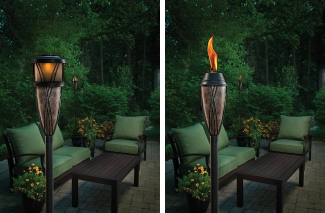 Solar Tiki Torch