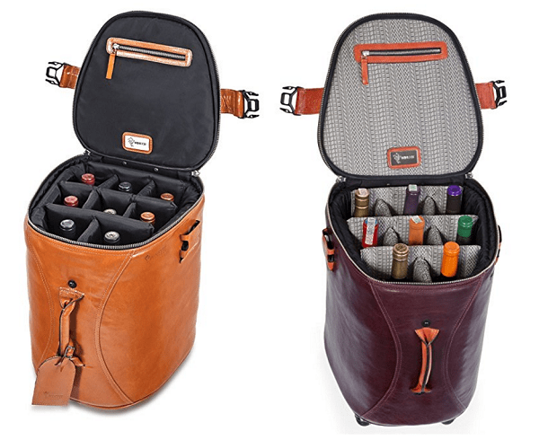 Wheeled Wine Case