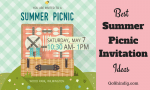 Picnic Invitation - The Best Summer Picnic Invite Ideas and Templates