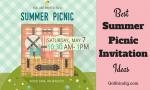 Picnic Invitation - The Best Summer Picnic Invite Ideas and Templates