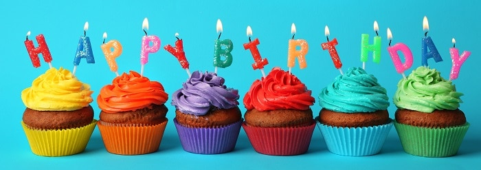 Picnic Birthday Cupcakes