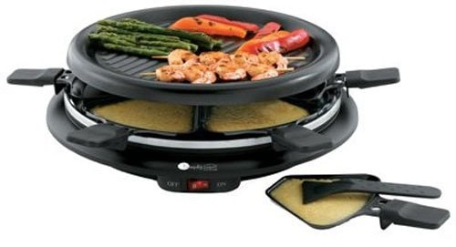 Round Raclette Grill