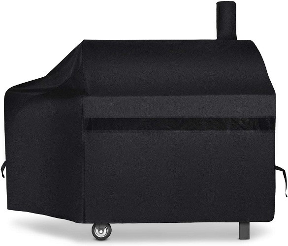 iCover Offset Smoker Pellet Grill Cover