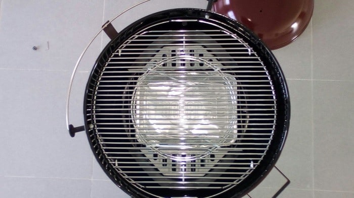 Weber Grill Top View