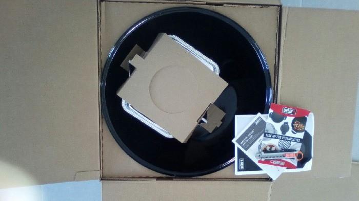 Weber Master Touch Open Box