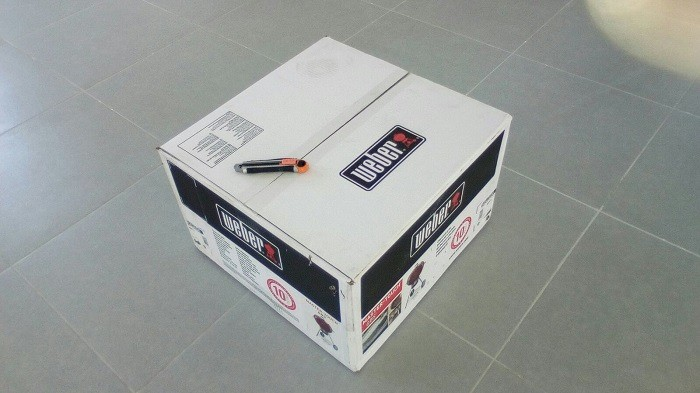 Weber Master Touch Box