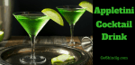 Appletini - How to make an Apple Martini Cocktail Drink