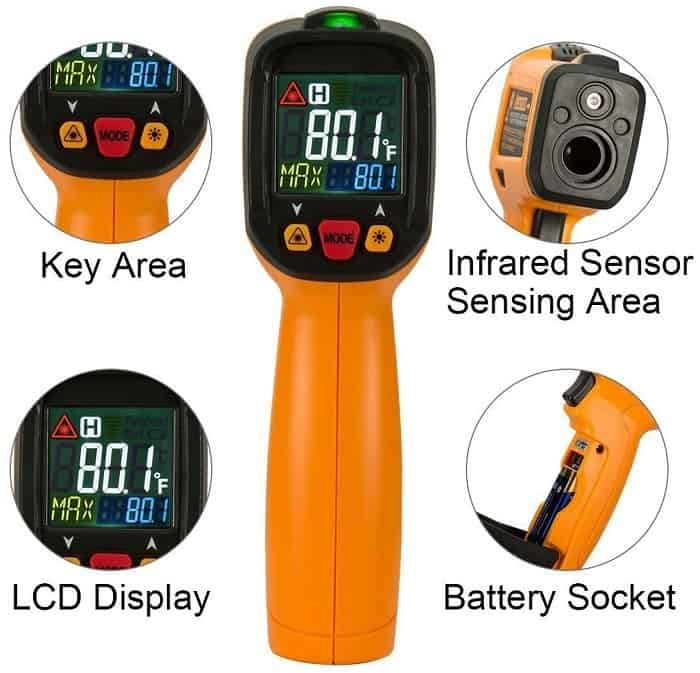 Exeblue Infrared Thermometer