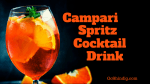 Campari Spritz Cocktail