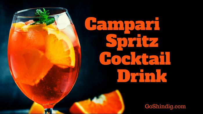 Campari Spritz Cocktail