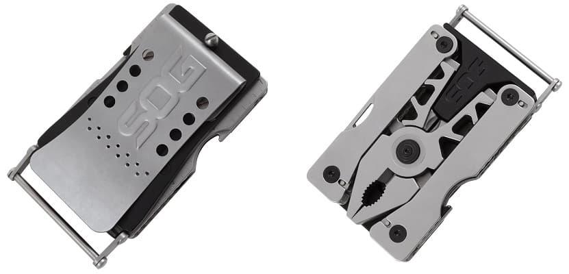 SOG Sync II multi-tool belt buckle