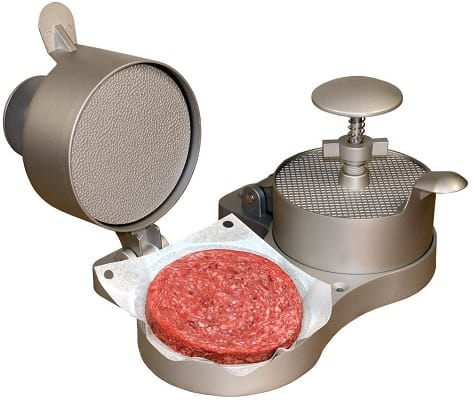 Weston burger press and patty ejector