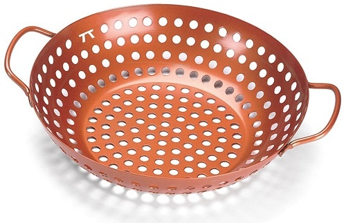 Vegetable Grill Basket Wok