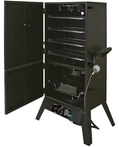 Smoke Hollow 2-door propane gas smoker