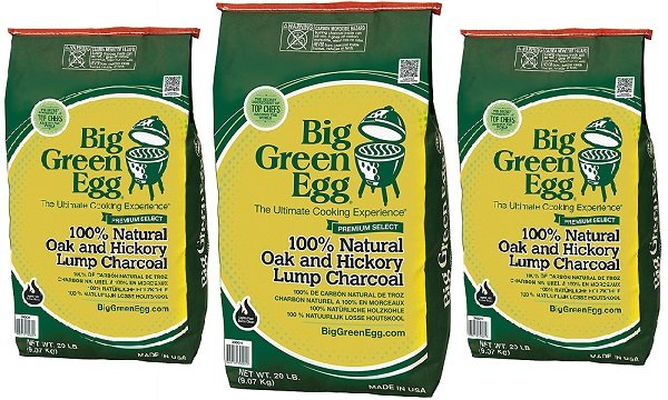 Big Green Egg lump charcoal