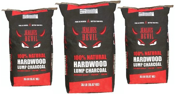 Jealous Devil natural hardwood lump charcoal
