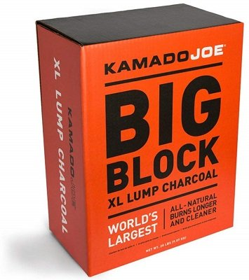 Kamado Joe block natural lump charcoal
