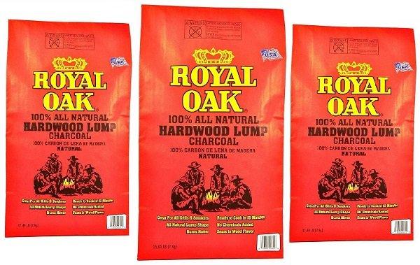 Royal Oak natural hardwood lump charcoal