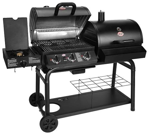 Char Griller gas and charcoal combo grill