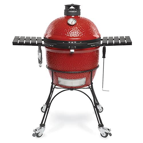 Kamado Joe combo grill and smoker