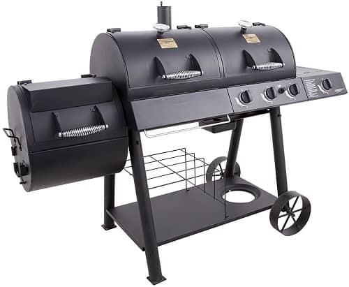 Oklahoma Joe's best combo grill