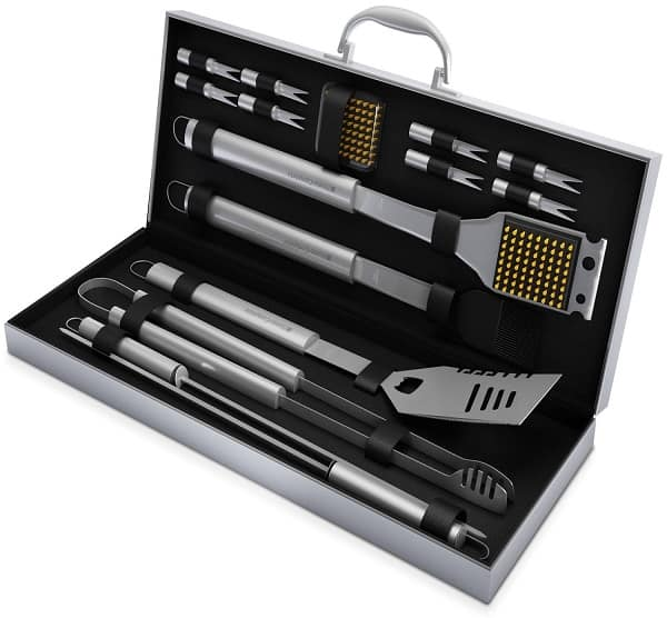 16 piece barbecue grill tool set