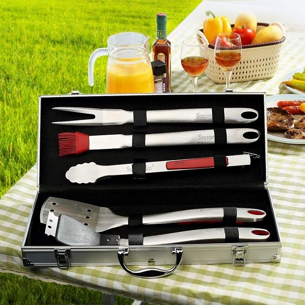 Grill tool set for BBQ